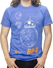 BB-8 Plans - Star Wars T-Shirts