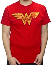 Distressed Wonder Woman Logo