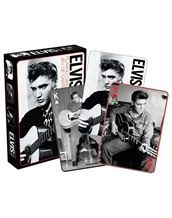 BW Elvis Playing Cards
