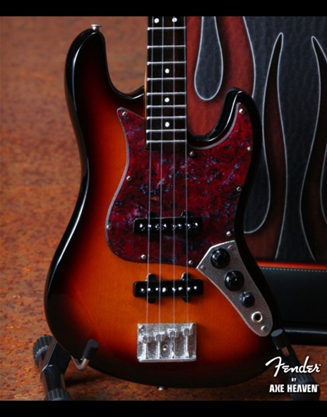 3 Color Sunburst Jazz Bass Mini