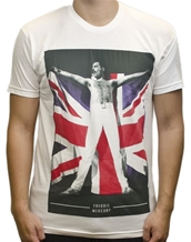 Freddie Flag - Queen T-Shirts