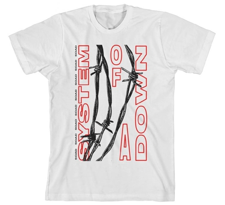 Barbed Wire Tee (S)