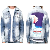 Oakland Pink Floyd Denim Jacket