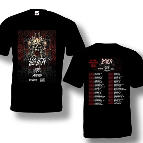 Slayer 2018 Tour Shirt (S)