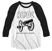 For Those About To Rock Raglan