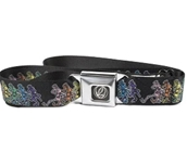 Dancing Skeletons Seatbelt Belt