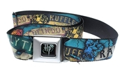 Hogwarts Houses Allover Belt