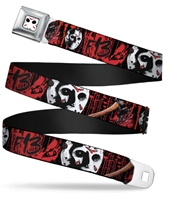 Jason Mask Closeup SeatbeltBelt