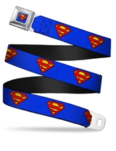 Superman Shield Seatbelt Belt
