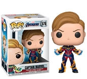 Captain Marvel w/New Hair Pop