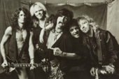 Aerosmith Group B&W Poster
