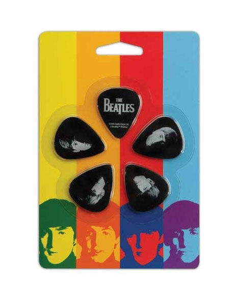 Meet the Beatles Med Pick Set