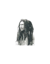 B/W Portrait-Bob Marley Large Posters - Textile Poster Flags