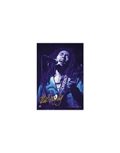 Blue-Bob Marley Large Posters - Textile Poster Flags