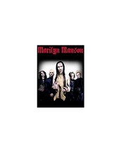 Hollywood Band Photo-Marilyn Manson Large Posters - Textile Poster Flags