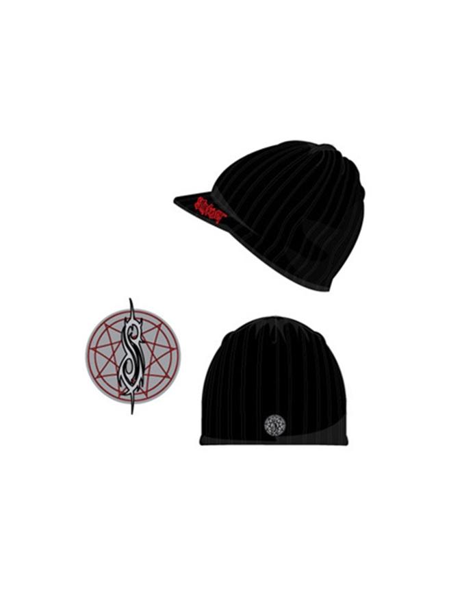 Logo Visor Beanie- Slipknot Rock Beanie  56089eaf842