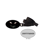 Scary Guy Belt Buckle-Disturbed Rock Belt Buckles