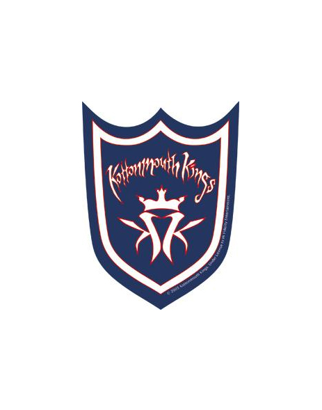 Kmk Shield Kottonmouth Kings Rock Band Stickers Shoprockamerica Com