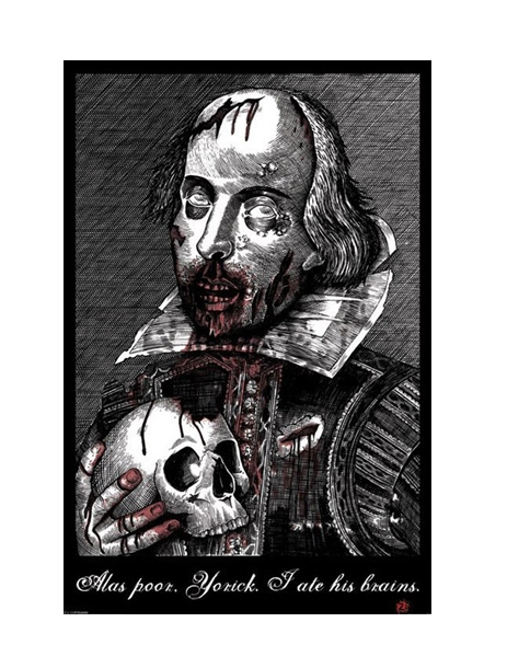 Zombie Shakespeare Poster