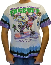 Steal Your Faceoff-Grateful Dead Rock Tie Dye T-Shirts
