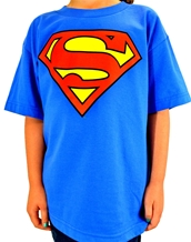 Classic S Logo Youth-Superman Rock Youth Shirts