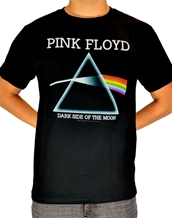 Impact Dark Side of the Moon-Pink Floyd Rock T-Shirts