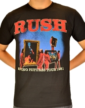 Moving Pictures 1981-Rush Rock T-Shirts
