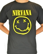 Smile-Nirvana Rock T-Shirts
