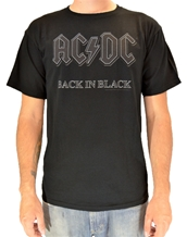 IMP Back in Black-AC/DC Rock T-Shirts