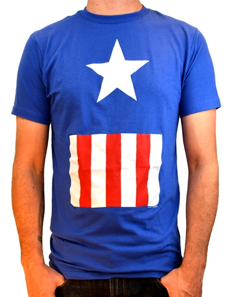 Captain America Suit Costume T (S)