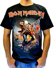 Trooper-Iron Maiden Rock T-Shirts