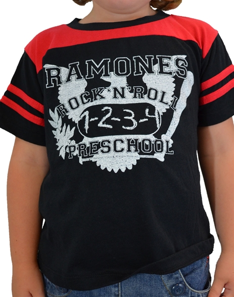 Ramones Gym Toddler Tee (6M)