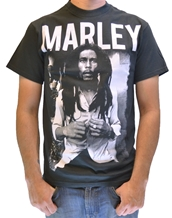 Black & White-Bob Marley Rock T-Shirts