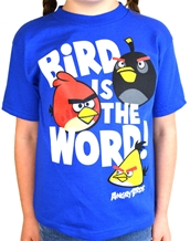 Bird Is the Word Juvy Tee - Angry Birds Kids T-Shirts