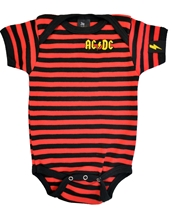 Striped Embroidered One-Piece
