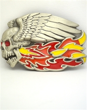 Wings And Skull