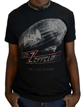 Cities - Led Zeppelin T-Shirts