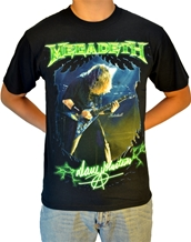 Megadeth Photo-Megadeth Rock T-Shirts