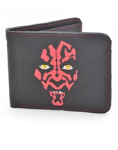 Star Wars Darth Maul Bi-Fold Wallet-Star Wars Accessories