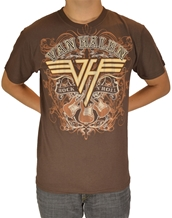 Rock N Roll-Van Halen Rock T-Shirts