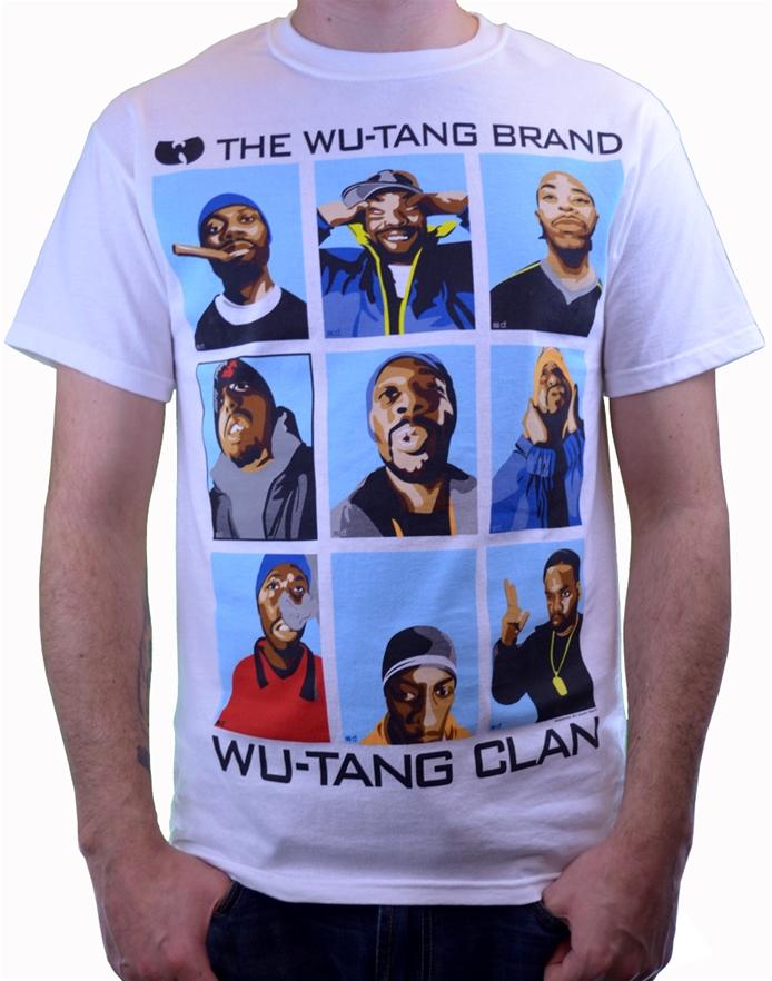 b59429ca1db Wu Brand Tee-Wu-Tang Clan Hip Hop T-Shirts