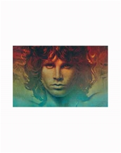 Spirit of Jim Poster- Jim Morrison Standard-Size Music Posters