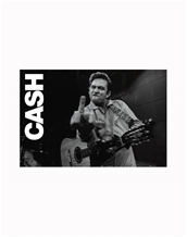 Middle Finger-Johnny Cash Music Posters