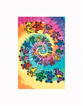 Spiral Bears Giant Poster