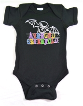 Doodle Bat Romper-Avenged Sevenfold Infant Wear
