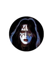 Ace Frehley Button-Kiss Rock Buttons