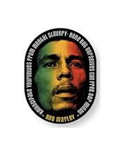 Marley Face Sticker