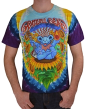 Guru Bear Tee - Grateful Dead Tie Dye T-Shirts