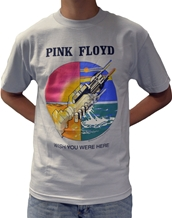 Wish You Were Here-Pink Floyd Rock T-Shirts