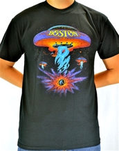 Classic Spaceship - Boston T-Shirts
